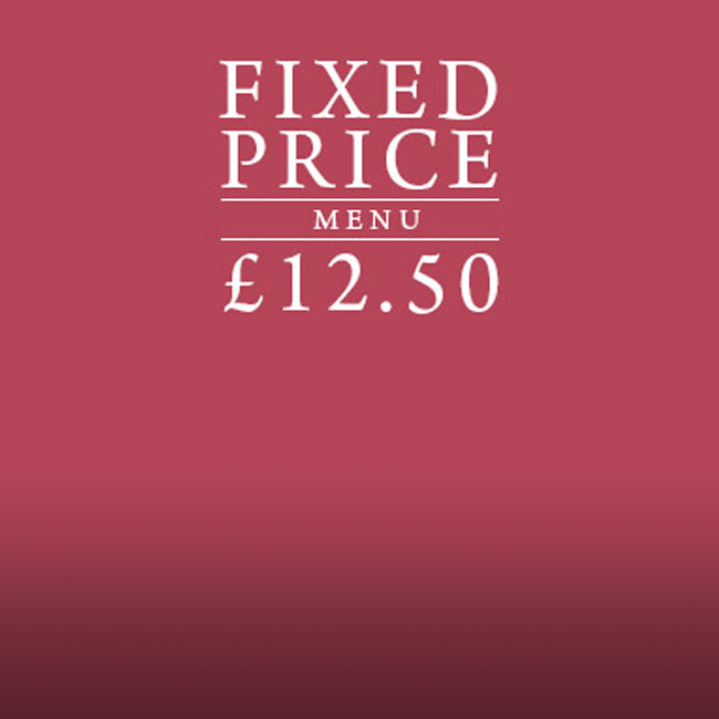 Fixed Price Menu at The Wotton Hatch
